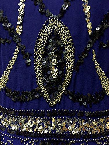 LIVE2LOVE - Robe - Femme Bleu - Bleu