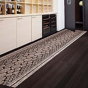 tapis de passage casa pura cork marron pour cuisine couloir entr e poids du poil env. Black Bedroom Furniture Sets. Home Design Ideas