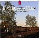 LÜNEBURGER HEIDE - Zwischen Heide und Wacholder: Original Stürtz-Kalender 2018 - Mittelformat-Kalender 33 x 31 cm -