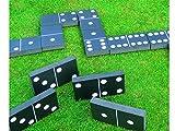 Giant Foam Dominoes Set Garden Patio Outdoor Game For Kids Children & Family Summer Fun Bar Office - Hillington ® - amazon.co.uk