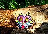 Schlüsselring Majora's Mask von The Legend of Zelda Majora s mask getragen von Skull kid • Hama Beads • Pixel/art • Perler beads