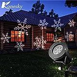 GVS 12 Laser Christmas Snowflake Patterns Disco Projector Disco Lights Outdoor LED Dvd Waterproof Home Garden Starlight Interior Decoration