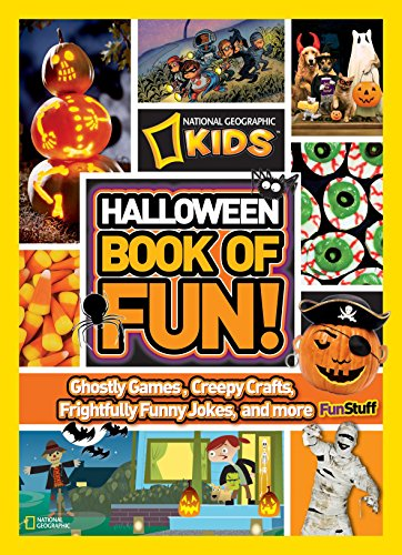 NG Kids Halloween Book of Fun (National Geographic Kids Books of Fun) (National Geographic Kids Halloween)