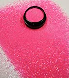 3 ml Glitterstaub (0,2mm) Babyrosa in Acryl Tiegel