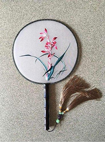 WE Suzhou Stickerei Handstickerei Fan Fan Alten Wind Palast Fan Antiken Handwerk , 6,6 (Öse Seide Gestickte)
