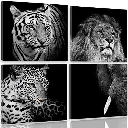 Feeby Frames, Cuadro lienzo - 4 partes - Cuadro impresión