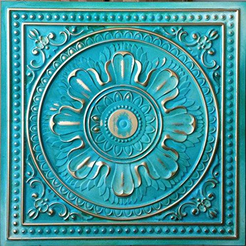 pl17-sintetica-lata-3d-techo-azulejos-verde-oro-repujado-cafe-pub-shop-arte-decoracion-de-pared-pane