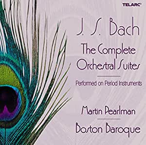 Bach: Complete Orchestral Suites /Boston Baroque · M Pearlman