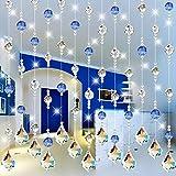 mark8shop 10PCS Kristall klar Glas Maple Leaf Lampe Prismen Teil Dekoration Anhänger zum Aufhängen 38x 26mm