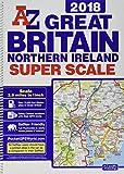 Great Britain Super Scale Road Atlas 2018