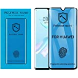 For Huawei P30 Pro Polymer anti-Shock 2.5D NaNO Curved Screen Protector Matte Unbreakable Shock and Fingerprint