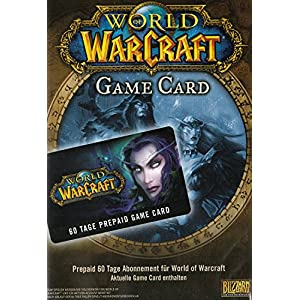 World of Warcraft – GameCard (60 Tage Pre-Paid) [PC Code]