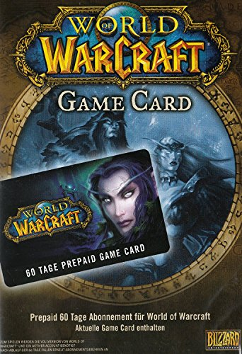 game time card World of Warcraft - GameCard (60 Tage Pre-Paid) [PC Code]