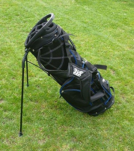 """Yorrx® Golfbag \""""Easy One\"""" - Carrybag/Standbag mit Regenschutzcover (EINFÜHRUNGSAKTION)"""