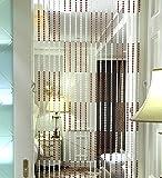 LIQICAI Wulstvorhang Divider Kristall für Zimmer Hochzeit Party Club Schaufenster, L 150CM, 5 Farben erhältlich (Farbe : Mid Purple, Größe : 120 * 150cm)