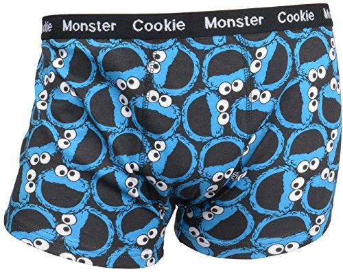 sesamstrasse-calzoncillos-boxer-con-la-cara-de-el-monstruo-de-las-galletas-azul-m