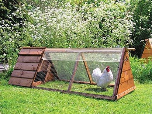 Omlet Bâche transparente 1.5m x 0.9m - Enclos à poules