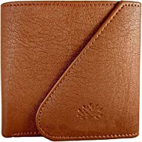 Modish Designs Artificial Leather Tri-fold Tan Color Wallet