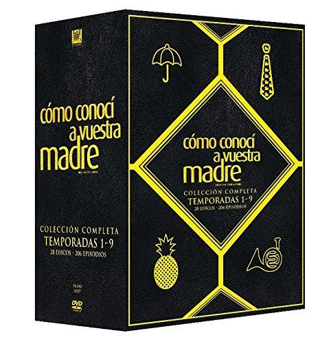 How I Met Your Mother (COMO CONOCI A VUESTRA MADRE BOXSET: TEMPORADAS 1 AL 9, Importé d'Espagne, langues sur les détails), DVD/BluRay