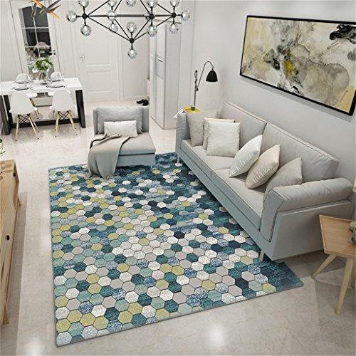 Designer tapis antidérapant rectangulaire tapis nordique tapis simple dans la chambre à coucher et salon table à café maison table de chevet tapis lavable (taille : 130 * 190cm)