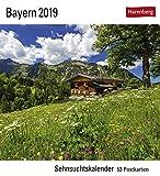 Bayern - Kalender 2019: Sehnsuchtskalender, 53 Postkarten -