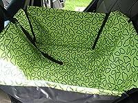 Lanxi Housse de siège de chien pet Housse de protection monoplace de voiture imperméable avec hamac Couverture de siège voiture voyage