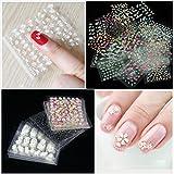 Mode Galerie 50 Feuilles d'Ongles Sticker Couleurs MšŠlangšŠes 3D Decal Nail Art Manucure