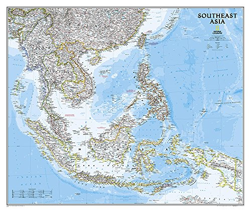 Southeast Asia Classic, Tubed (National Geographic Reference Map)