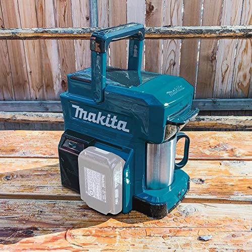 Makita DCM501Z Coffee Maker, 18 V, Blue