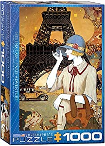 Eurographics 6000-0517 Paris Adventure - Puzzle (1000 Piezas)