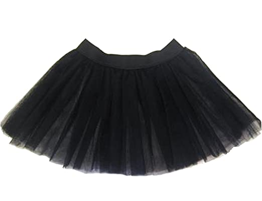 Childrens Kids Tutu Skirt With Bows 4 7 Years Old S M