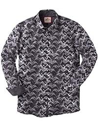 Joe Browns Men's Long Sleeved Monochrome Shirt