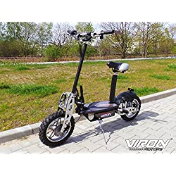Viron Scooter Eléctrico, 1000 W, Color Negro