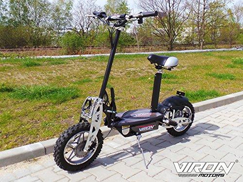 Preisvergleich Produktbild Elektro Scooter 1000 Watt E-Scooter Roller 36V / 1000W Elektroroller - Viron V.7