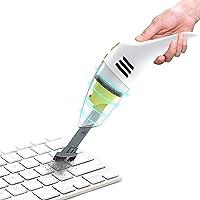 MECO ELEVERDE Mini Aspirateur sans Fil Rechargeable Aspirateur de Table Clavier Nettoyage poussière/Cheveux/miettes/café…