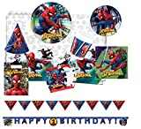 Procos 10118257Party Set Spiderman Team Up