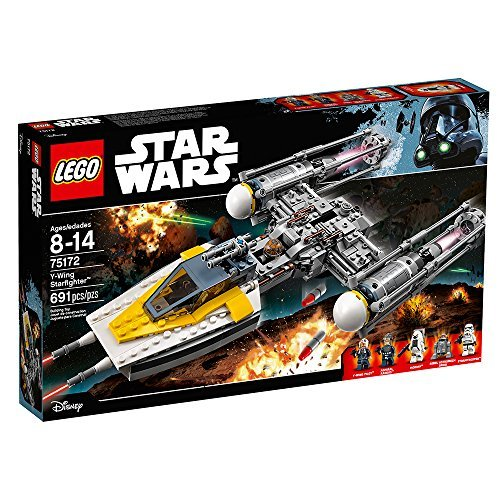 LEGO Star Wars 691-Piece Y-Wing Starfighter Construction Set (Star-wars-lego-sets 2 In Einem)
