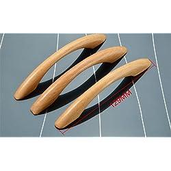 Kentop 4 x Madera Armario Mango Tirador arco para libros Armario Armario Caj n