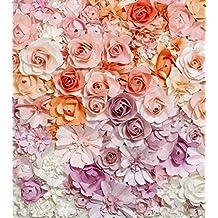 Amazon Es Fondos De Flores Vintage Hua
