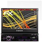 atFoliX Folie für Xomax XM-DTSB928 Displayschutzfolie - 2 x FX-Antireflex-HD hochauflösende entspiegelnde Schutzfolie