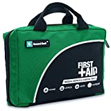 160 Piece Premium First Aid Kit Bag - Includes Cold (Ice) Pack, Emergency Blanket for Travel, Home, Office, Car, Camping, Workplace (Green)