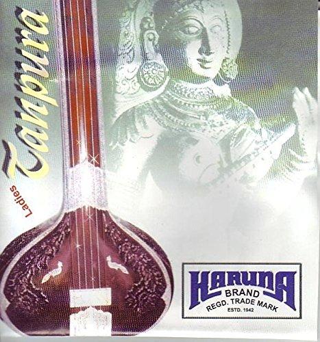 Tanpura, Tambura, String Set, Karuna (Marke, für weibliche Tanpura, 4Saiten