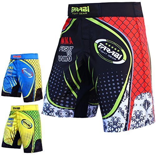 mma-shorts-cage-lotta-scossa-pantaloni-boxing-muay-thai-per-la-formazione-e-concorrenza-f2w-series-b