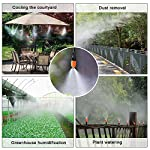 MIXC DIY bewässerungssystem Garten einstellbar Mist Cooling System Micro-Drip-System automatische Sprinkler…