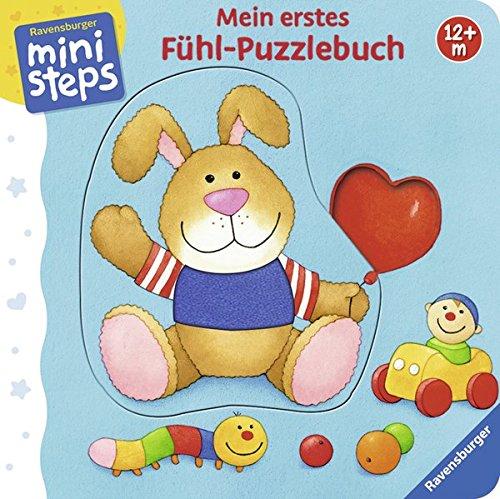 Preisvergleich Produktbild Mein erstes Fühl-Puzzlebuch: Ab 12 Monaten (ministeps Bücher)
