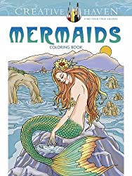 Creative Haven Mermaids Coloring Book (Adult Coloring)