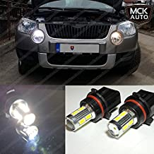 9SMD Luces de Conducción Diurna Drl Bombillas LED Canbus Luces Cree P13 W Blanco Eb3R1