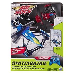 Spin Master 6033612-Air Hogs-Switchblade Multicolor , Modelos/colores Surtidos, 1 Unidad