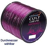 CULT Deep Purple Climax Angelschnur Karpfenschnur Fluorocarbon ummantelt 0,30mm