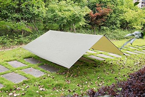 Himifutre 3m x 3m impermeabile ripstop rain fly amaca tarp cover tent shelter telone per campeggio, hiking, viaggi